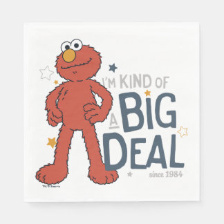 Elmo | I'm Kind of a Big Deal Disposable Serviette