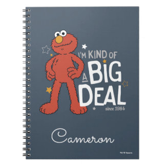 Elmo   I'm Kind of a Big Deal Notebook