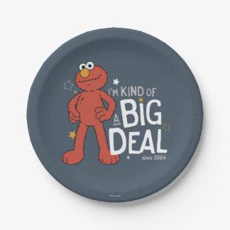Elmo | I'm Kind of a Big Deal Paper Plate