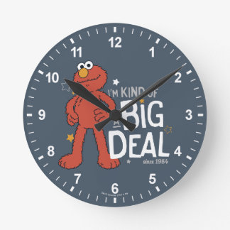 Elmo | I'm Kind of a Big Deal Round Clock
