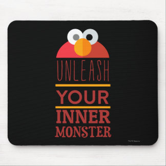 Elmo Inner Monster Mouse Pad