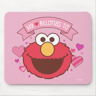 Elmo | My Heart Belongs To Elmo Mouse Pad