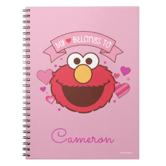 Elmo   My Heart Belongs To Elmo Notebook