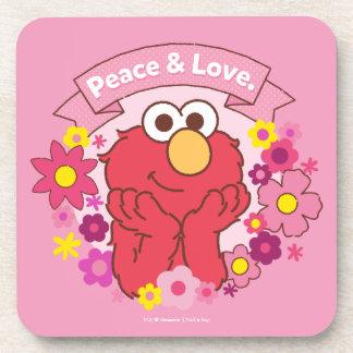 Elmo   Peace & Love Coaster
