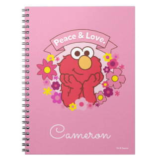 Elmo   Peace & Love Notebook