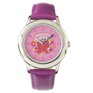 Elmo | Peace & Love Wrist Watches