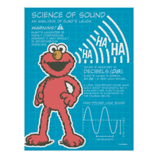 Elmo - Science of Sound Poster