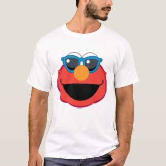 Elmo  Smiling Face with Sunglasses T-Shirt