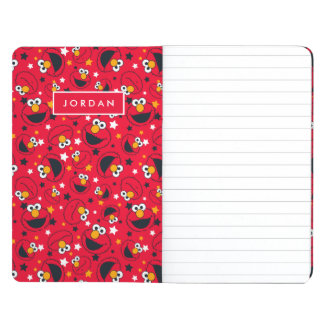 Elmo   So Silly Star Pattern   Add Your Name Journal