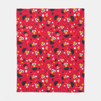Elmo | So Silly Star Pattern Fleece Blanket