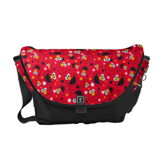 Elmo | So Silly Star Pattern Messenger Bags