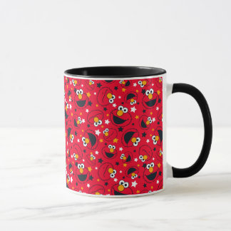 Elmo | So Silly Star Pattern Mug