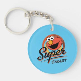 Elmo Super Smart Comic Double-Sided Round Acrylic Key Ring