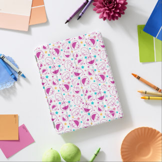 Elmo   Sweet & Cute Star Pattern iPad Cover