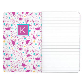 Elmo | Sweet & Cute Star Pattern | Monogram Journal