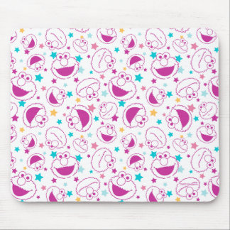Elmo | Sweet & Cute Star Pattern Mouse Pad