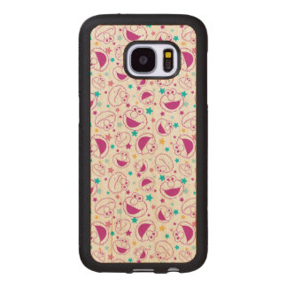 Elmo | Sweet & Cute Star Pattern Wood Samsung Galaxy S7 Case