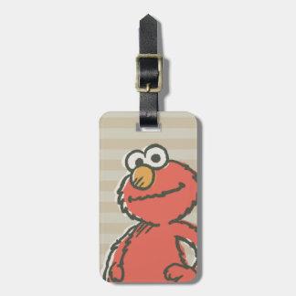 Elmo Vintage Luggage Tag