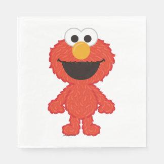 Elmo Wool Style Disposable Napkin