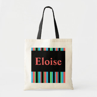Eloise Pretty Stripes Budget Tote Bag