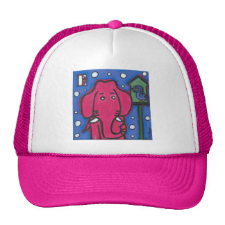 eloise the elephant loves her bird Trucker Cap
