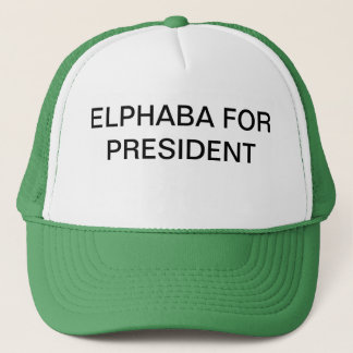 Elphie for Prez Trucker Hat