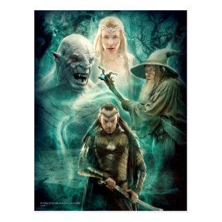 ELROND™, Azog, Galadriel, & Gandalf Graphic Postcard