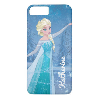 Elsa | Winter Magic | Your Name iPhone 7 Plus Case
