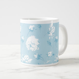 Elsie aqua jumbo mug