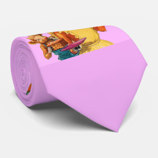 Elsie the Cow and daughter Beulah - It's Cake Time Tie