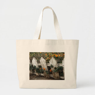 Elsinore Fence 14x11 Large Tote Bag