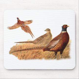 Elusive Pheasant Bird Hunting Mouse Pad