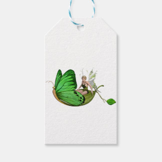Elven Fairy on a Leaf Boat Gift Tags