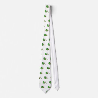 Elven Fairy on a Leaf Boat Tie
