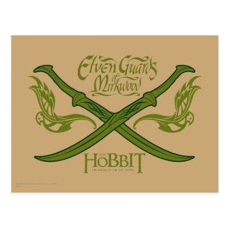 Elven Guards of Mirkwood Movie Icon Postcard