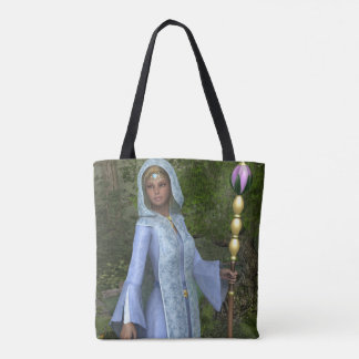 Elven Maiden All-Over Print Tote Bag