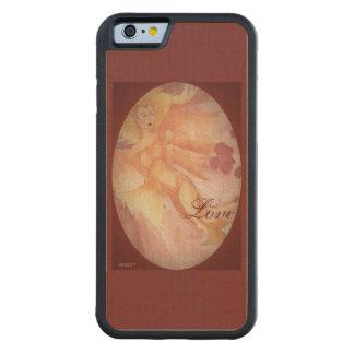 Elven Queen Elf Choose Background Color Carved Maple iPhone 6 Bumper Case