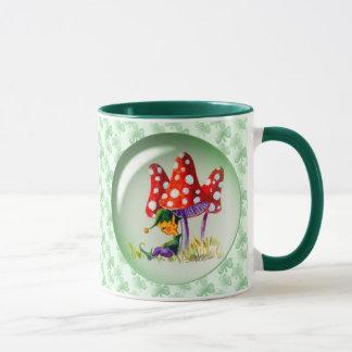 ELVES & MUSHROOMS by SHARON SHARPE Mug