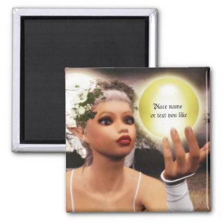 Elvin magic light ball Magnet