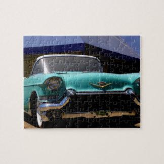 Elvis Presley's Green Cadillac Convertible in Puzzle