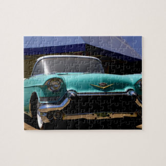 Elvis Presley's Green Cadillac Convertible in Puzzles