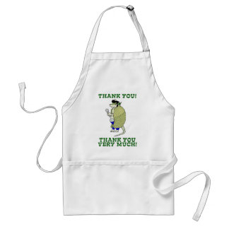 Elvisdillo Thank You, Thank You Very Much Adult Apron