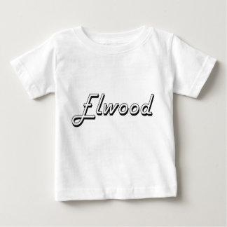 Elwood Classic Retro Name Design Baby T-Shirt