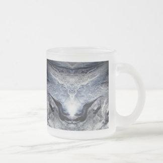 Elysian Elk 10 Oz Frosted Glass Coffee Mug
