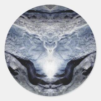 Elysian Elk Round Sticker