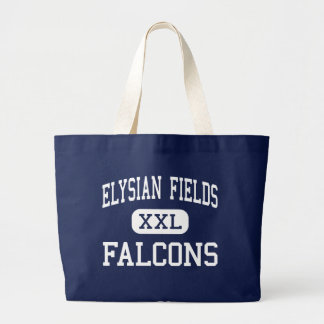 Elysian Fields Falcons Middle Houma Tote Bags