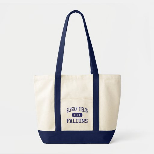 Elysian Fields Falcons Middle Houma Canvas Bags
