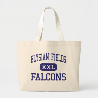 Elysian Fields Falcons Middle Houma Tote Bags