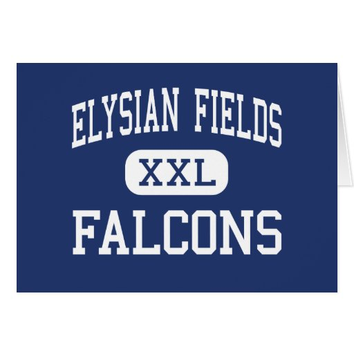 Elysian Fields Falcons Middle Houma Greeting Cards