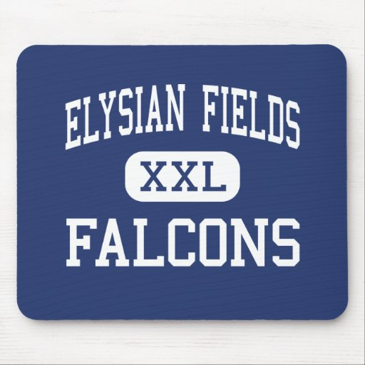 Elysian Fields Falcons Middle Houma Mouse Pads